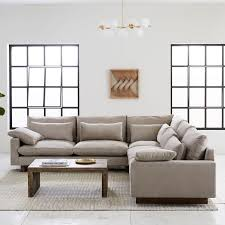 l shaped furniture. Brilliant Furniture Harmony DownFilled LShaped Sectional In L Shaped Furniture H