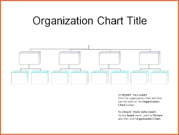 Organization Chart Template Excel And Templates Free Blank