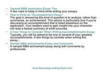 accomplishment essay science essay topic cheap essays online uk accomplishment essay