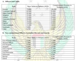 Indian Air Force Salary Chart This Is How Much Uae Police Officers Earn News Khaleej Times