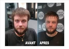 Soin De La Barbe Au Salon De Coiffure Pascal Burlot à