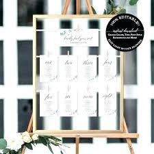 Wedding Seating Cards Template Grainsdor Com