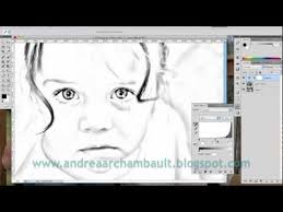 Small Picture DIY Photo Coloring Book Tutorial Photoshop CS5 YouTube