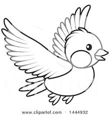 flying bird clipart black and white.  Clipart Amusing Bird Clipart Black And White Enchanting Of A Cartoon  Flying With Flying Bird Clipart Black And White L