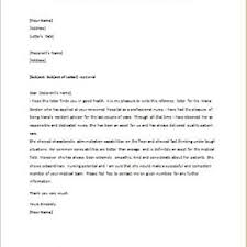 letter of recommendation template for nursing student gallery of reference letter for nursing student