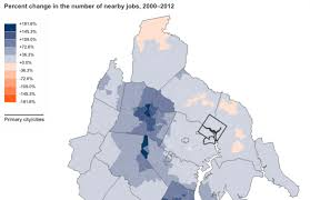 Dc Map Local Counties With The Best Local Job Growth