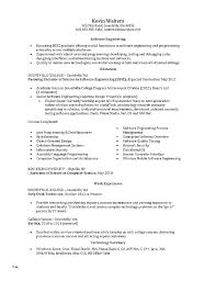 College Application Resume Sample – Resume Sample Source