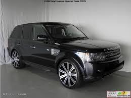 2011 Santorini Black Metallic Land Rover Range Rover Sport ...