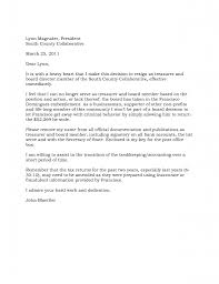 Letter Of Resignation Board Of Directors How To Write A Proper