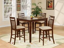 Industrial Kitchen Table Furniture Small Round Kitchen Table And Chairs Small Round Glass And Metal