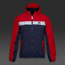 fila clothing mens. fashion fila clipper hooded colour block jackets mens chinese red clothing e