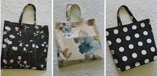 Shopping Bag Pattern