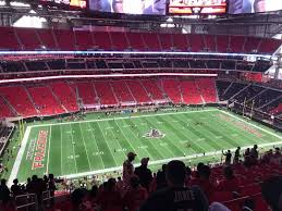 Atlanta Falcons Seating Chart With Rows Mercedes Benz Stadium Section 314 Row 16 Seat 22