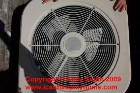 central air conditioner condenser