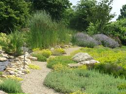 country garden landscape pathway