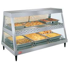 glo ray heated display case