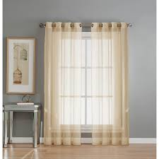 Wide Window Treatments window elements sheer diamond sheer voile white grommet extra wide 6835 by xevi.us