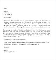 Contribution Letter Charity Donation Letter Template
