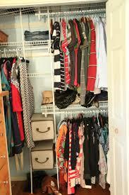 Organised Bedroom Closet Organizing
