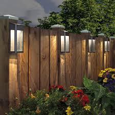 Sterno Home Paradise Solar Led Post Lights 4 Pack Led