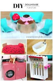 homemade dollhouse furniture. Easy To Make Dollhouse Furniture This Is The Best These Are Inexpensive Ideas That Kids Can With Recycled Materials Homemade