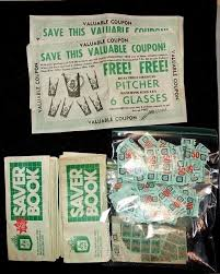 vintage s h green stamps savers booklets coupons