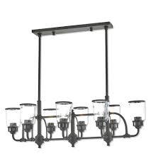 linear chandelier bronze 8 light inch bronze linear linear chandelier oil rubbed bronze