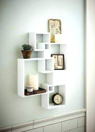 wall display ideas wall display ideas decorate wall shelves generic intersecting squares wall shelf decorative display