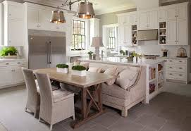 Image Diner Homedit How Kitchen Table With Bench Seating Can Totally Complete Your Home