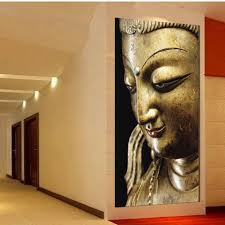 wall art religion gold buddha oil painting on canvas contemporary within best and newest buddha metal on buddha wall art metal with showing gallery of buddha metal wall art view 5 of 20 photos