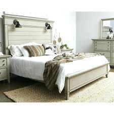 White King Bed Frame White Wooden King Size Bed Frame Grey Wood King ...
