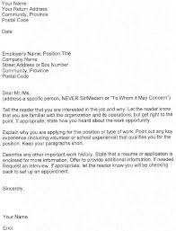 Cover Letter For Job Application Fresh Graduate 12 My College Scout