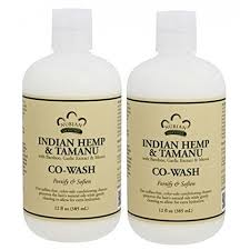 nubian herie indian hemp and tamanu co wash pack of 2 with bamboo