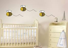 wall art design ideas interior bedroom bumble bee wall art design