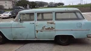 1955 Chevy BelAir Wagon - YouTube