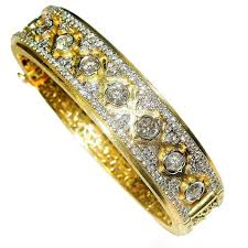 Stambolian Design Stambolian Diamond Gold Bangle Bracelet 1stdibs Com