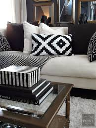 focal point styling thrifted chic black white living room on chairish