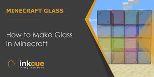 how to make glass in minecraft java