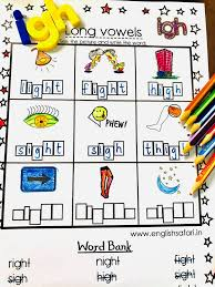 Write the letters in the spaces, learn the sound and. English Safari Igh Words Worksheets For Kindergarten And Facebook