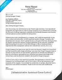 Executive Assistant Resume Cover Letter Primeliber Com