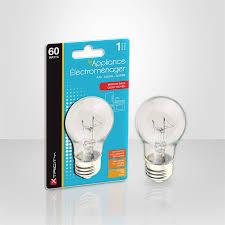 1 63043 60 watts clear appliance light bulb x12 0 75