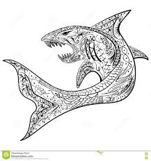 Small Picture Coloring Pages Animals Shark Coloring Page Images Shark