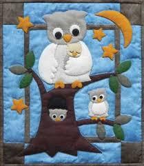 OWL FAMILY WALL QUILT PATTERN | junto e misturado | Pinterest ... & OWL FAMILY WALL QUILT PATTERN Adamdwight.com