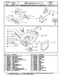 husqvarna 268 parts manual