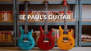 Prs Se Pauls Guitar Amber Sweetwater