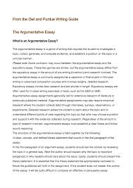 evaluation argument essay cover letter example of an argument  cover letter example of an argument essay example of argument
