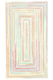 pink braided rug chenille area rugs target