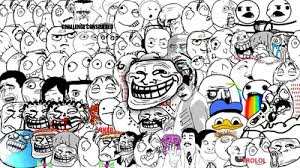 trollface faces me gusta poker face trololo troll memes High ... via Relatably.com