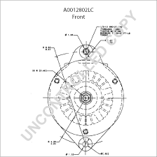 A0012802lc front dim drawing