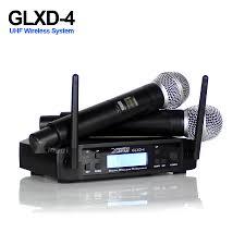 Professional UHF Wireless Microphone <b>Karaoke Handheld</b> Mic SM ...